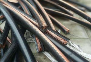 旧电缆线回收